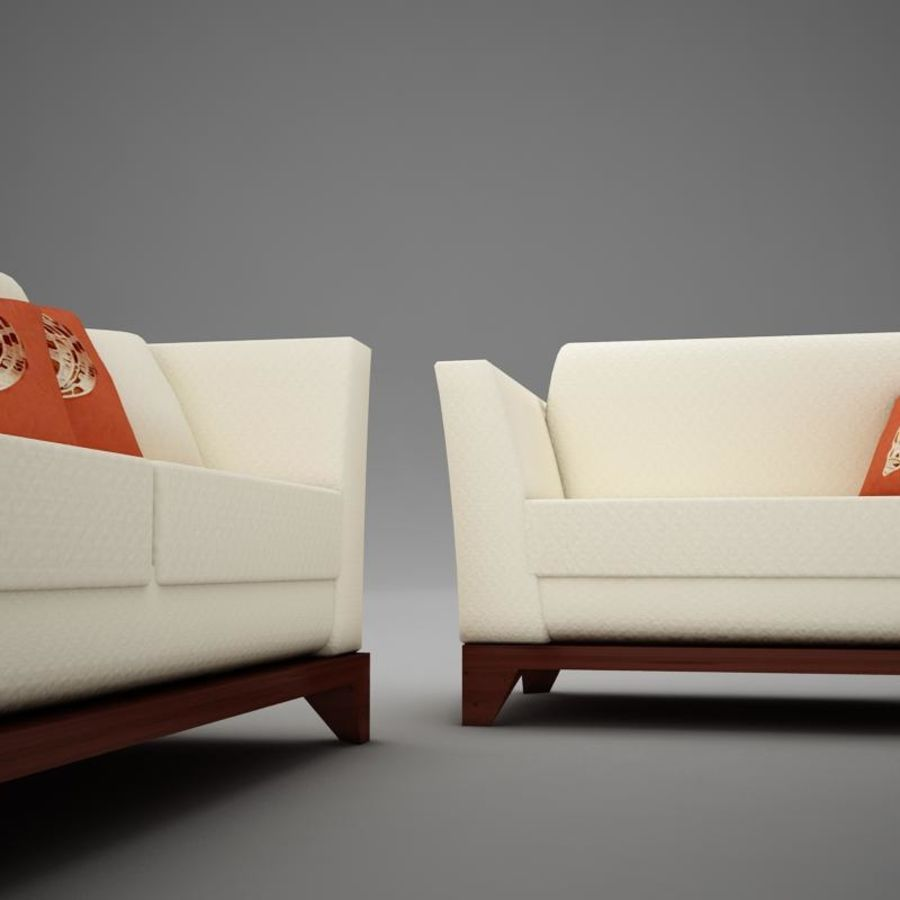 couches files.zip royalty-free 3d model - Preview no. 5