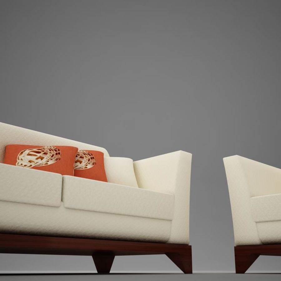 couches files.zip royalty-free 3d model - Preview no. 7