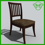 desk chair 2 3d model