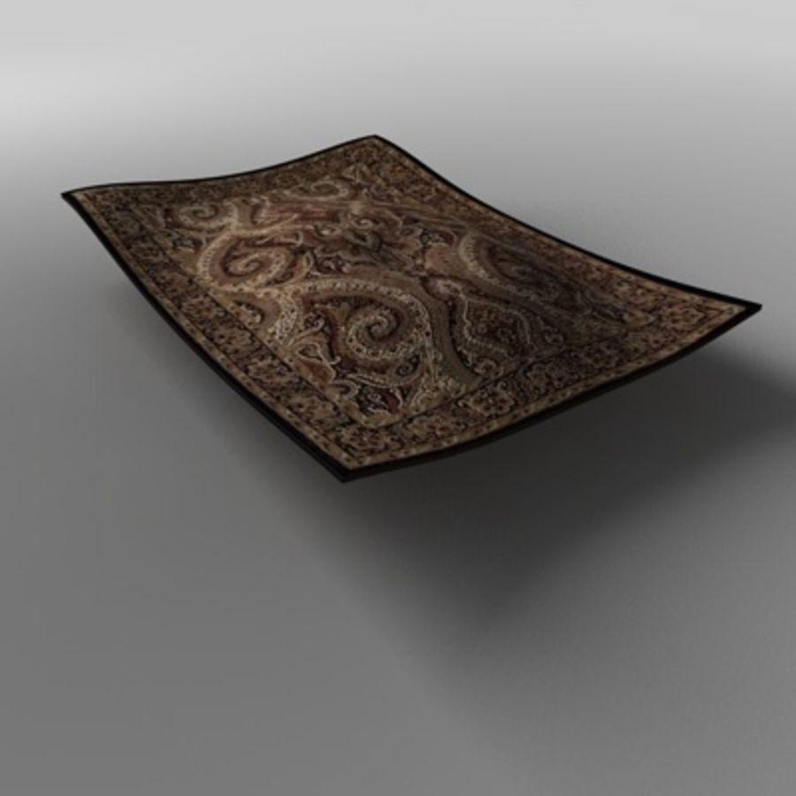 地毯/地毯 royalty-free 3d model - Preview no. 3