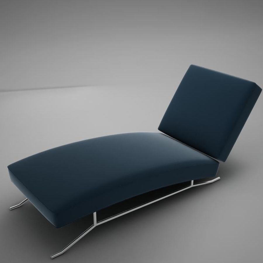 lounge chair02 royalty-free 3d model - Preview no. 1