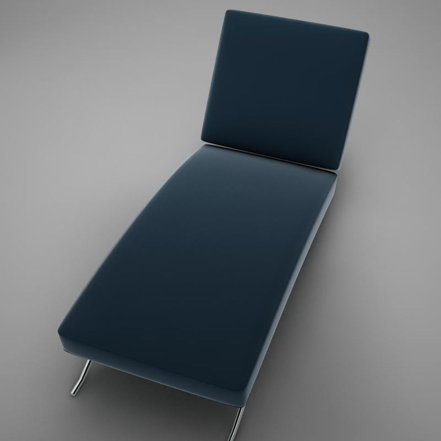 lounge chair02 royalty-free 3d model - Preview no. 10