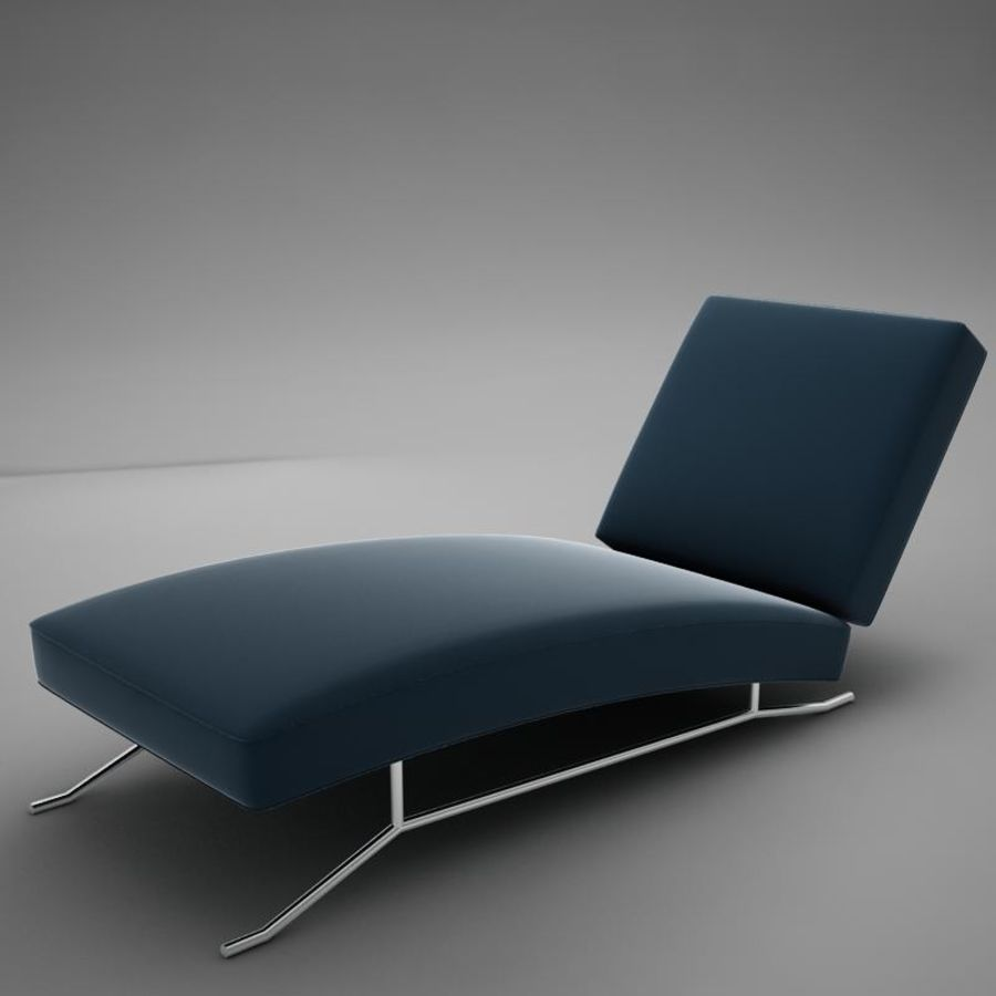 lounge chair02 royalty-free 3d model - Preview no. 5