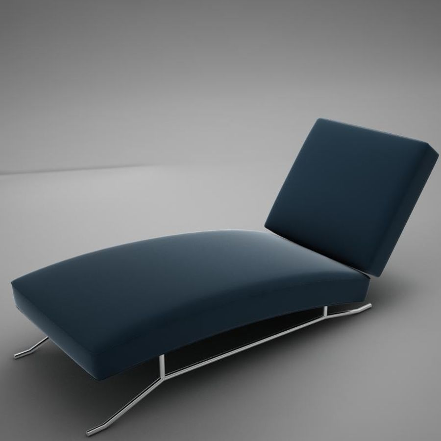 lounge chair02 royalty-free 3d model - Preview no. 8