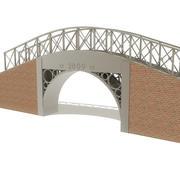 Foot Bridge 3d model