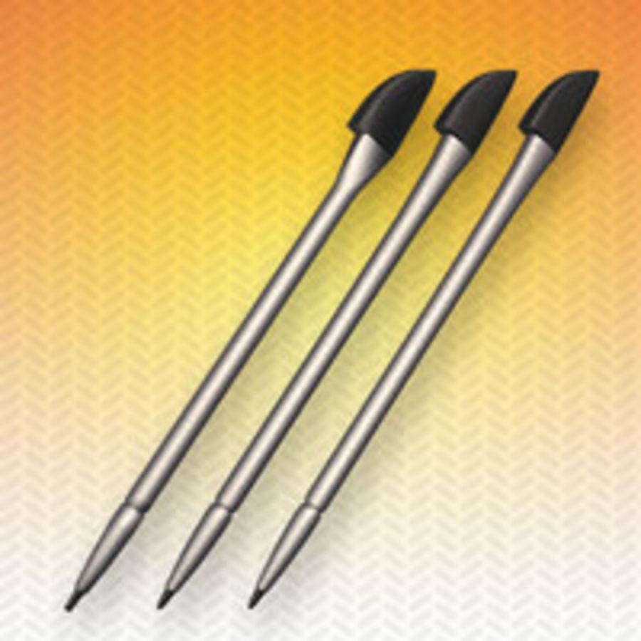 caneta stylus para smartphone pda royalty-free 3d model - Preview no. 1