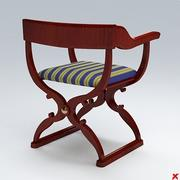 Chair old fashioned029.ZIP 3d model