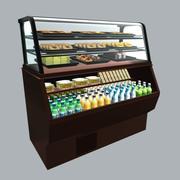 Food Merchandiser 3d model