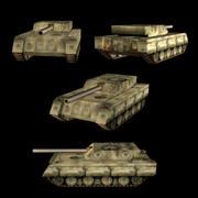 Tanque (tanque de batalla) modelo 3d