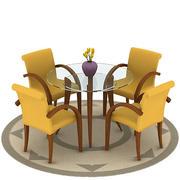 dining_set_02_vray.max 3d model