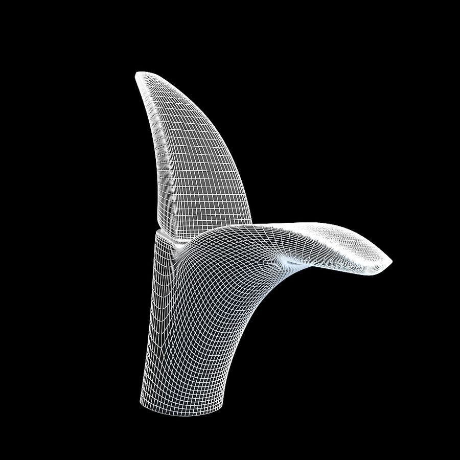 Volo faucet royalty-free 3d model - Preview no. 2