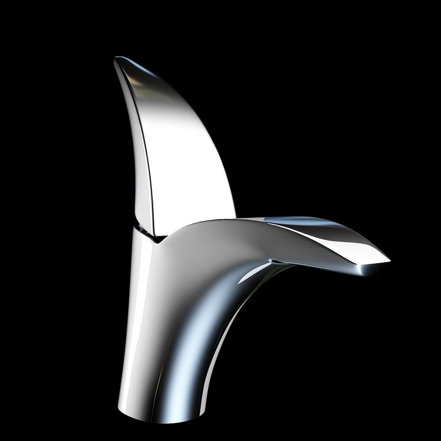 Volo faucet royalty-free 3d model - Preview no. 1