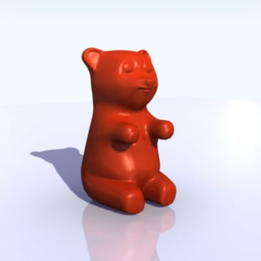 Gummy Bear 3D Model $20 - .ma - Free3D