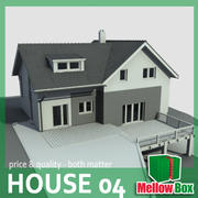 Single family house 04 3d model