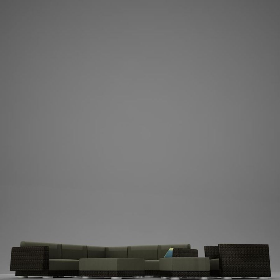 kanepe veranda 4 royalty-free 3d model - Preview no. 9