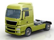 TGX yellow 3d model