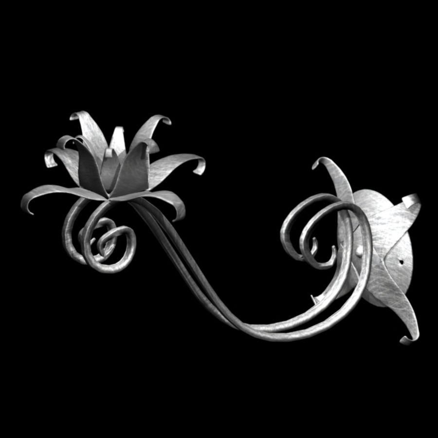 Fantastic Candlestick royalty-free 3d model - Preview no. 1