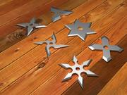 Shuriken throwing star 3d model