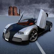 Bugatti Veyron Concept 2004 3d model