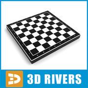 3DRivers의 체스 판 01 3d model