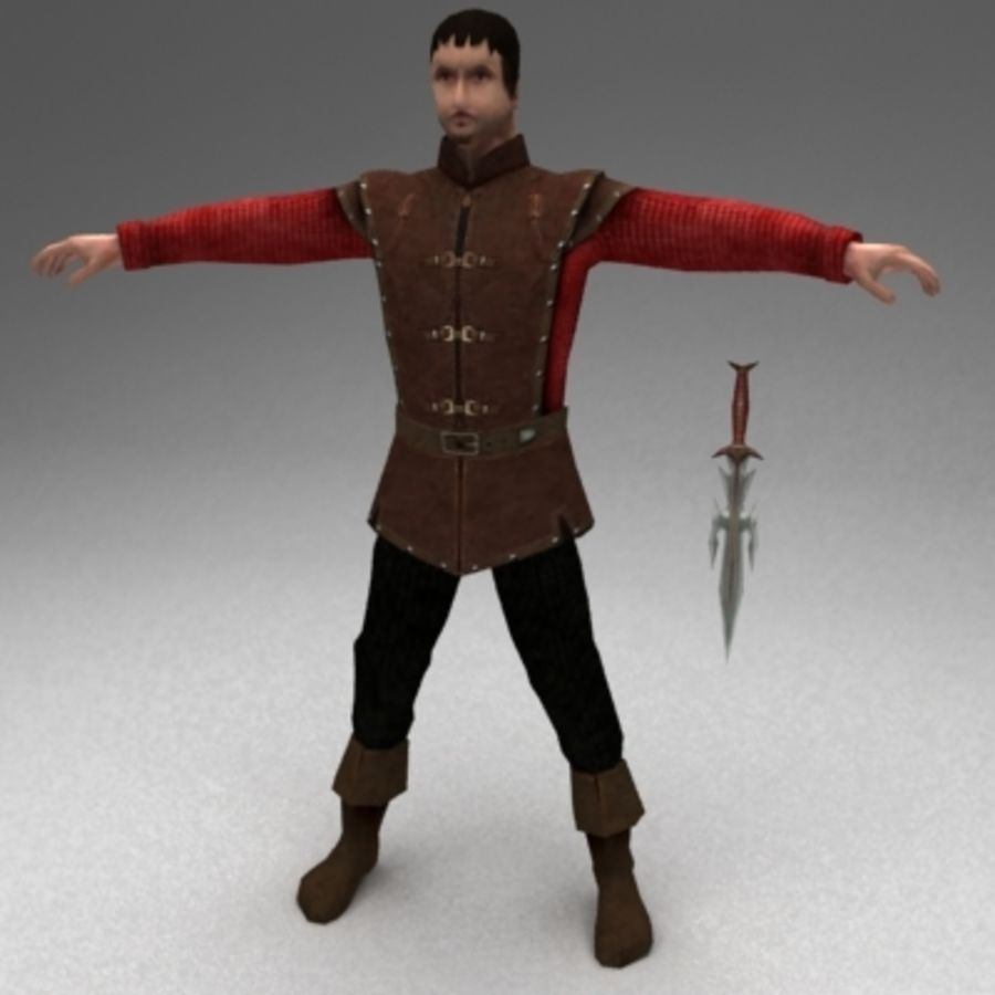 soyguncu royalty-free 3d model - Preview no. 1