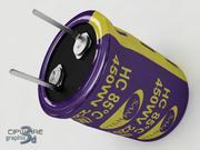 Condensatore elettrolitico v.2 3d model