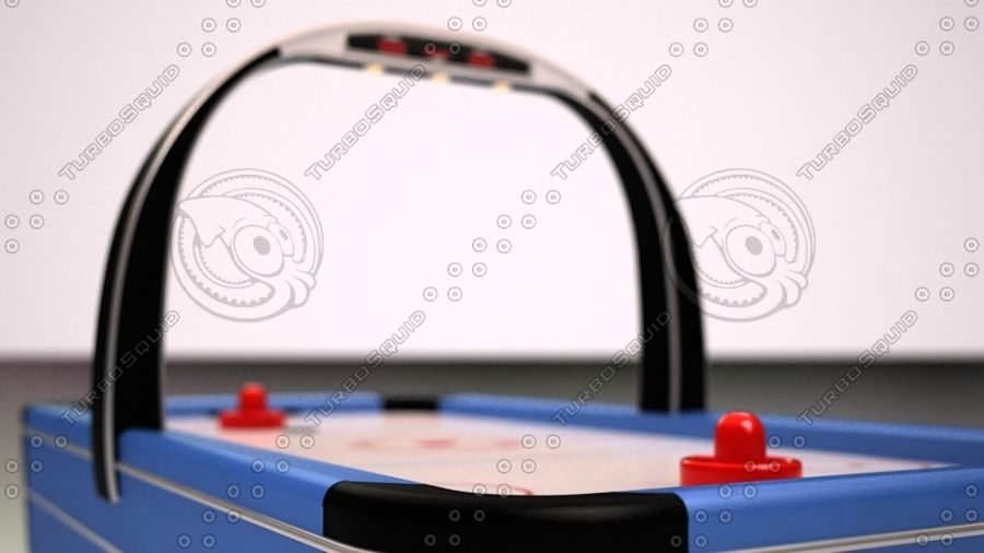 AirHockey Ver 2 royalty-free modelo 3d - Preview no. 2