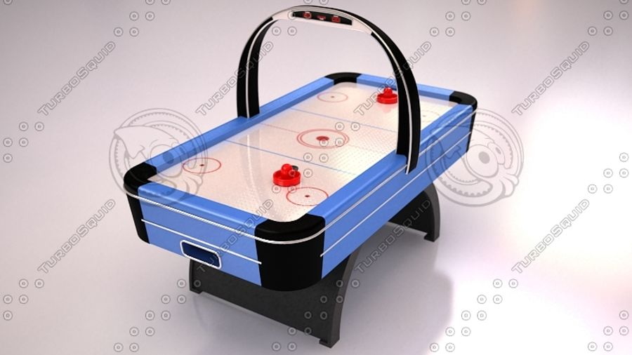 AirHockey Ver 2 royalty-free modelo 3d - Preview no. 1