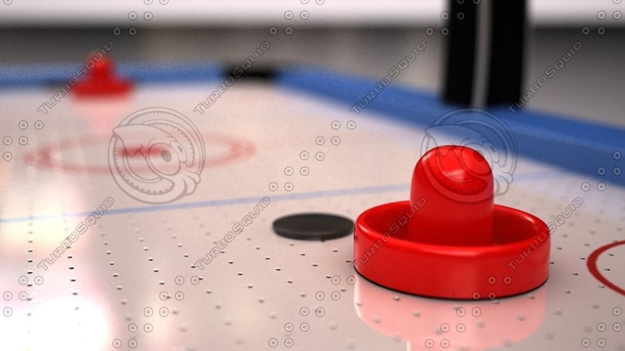 AirHockey Ver 2 royalty-free modelo 3d - Preview no. 4