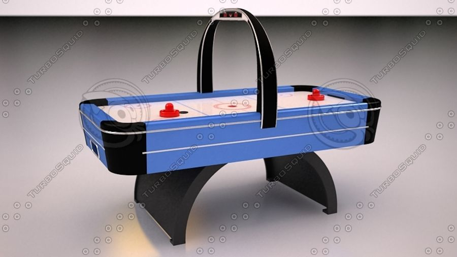 AirHockey Ver 2 royalty-free modelo 3d - Preview no. 3