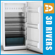 Refrigerator by 3DRivers 3d model