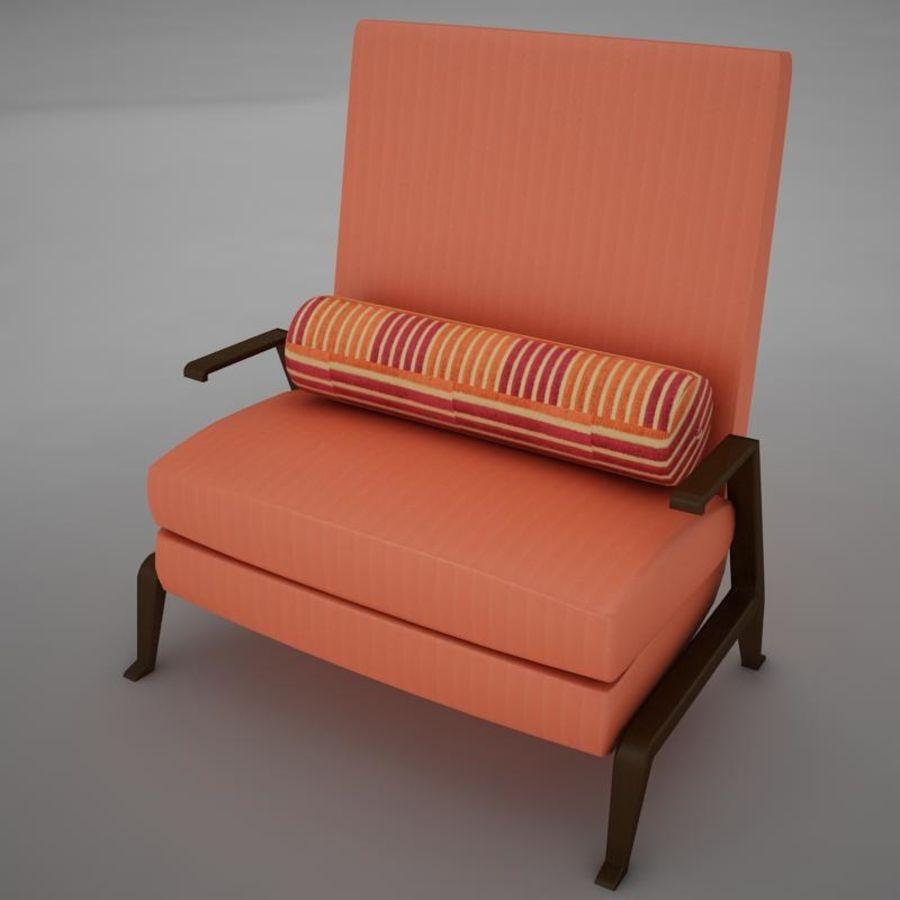 Stuhl moderner tropischer Klassiker royalty-free 3d model - Preview no. 1