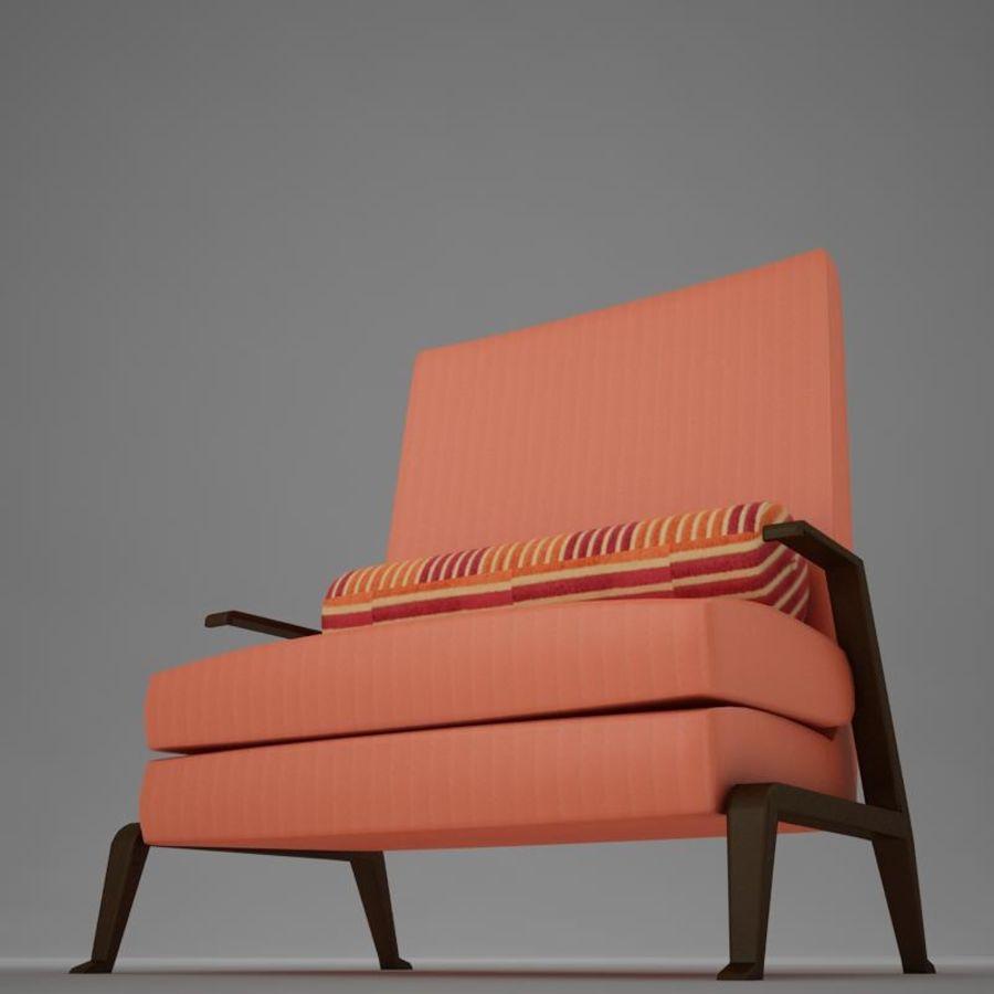 Stuhl moderner tropischer Klassiker royalty-free 3d model - Preview no. 4