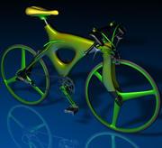 自転車 3d model