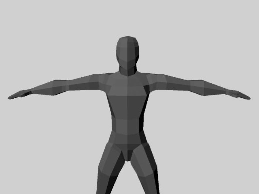 basemesh.mb royalty-free 3d model - Preview no. 1