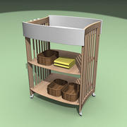 Baby Changing Unit 3d model