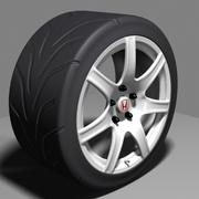 Honda NSX Type R Wheel 3d model