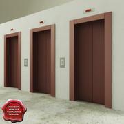 Lift doors 3d model