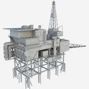 Пайпер Альфа 3d model
