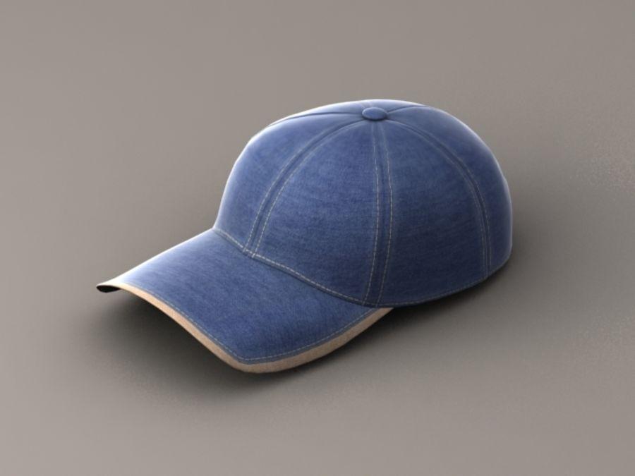 Baseball cap #01 royalty-free 3d model - Preview no. 1