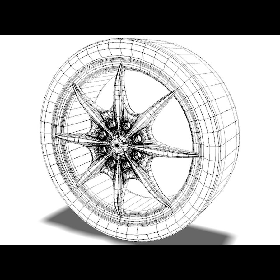 Mag Wheels - Rota Circuit royalty-free 3d model - Preview no. 6