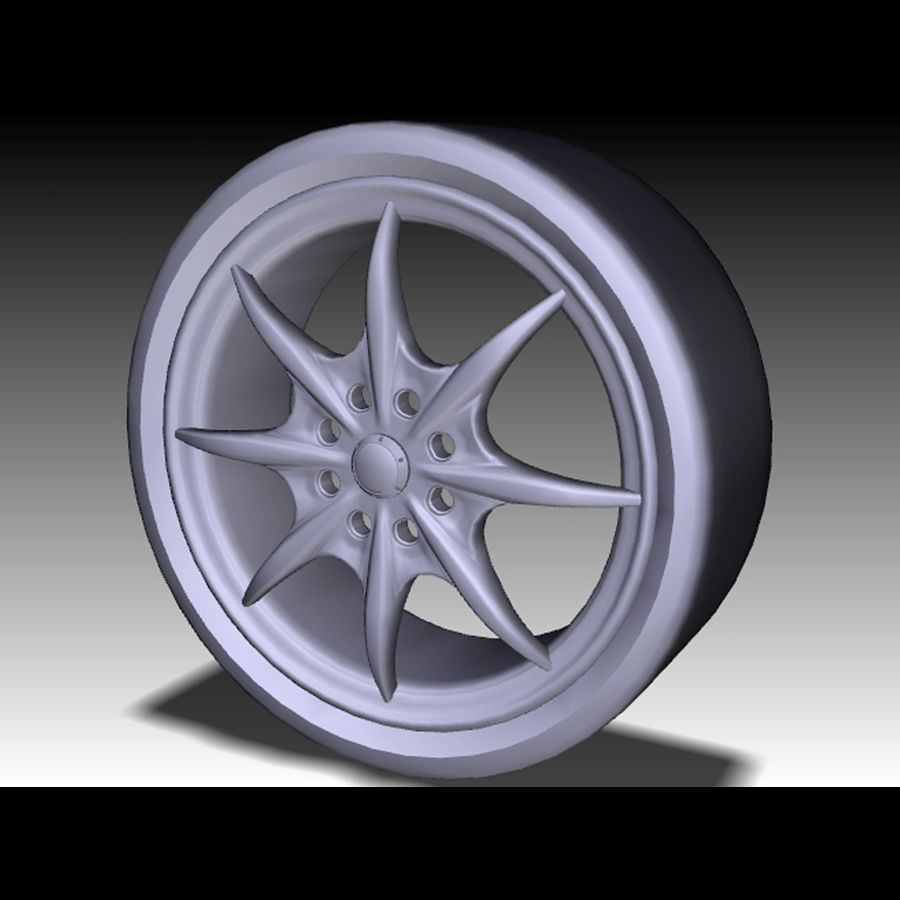 Mag Wheels - Rota Circuit royalty-free 3d model - Preview no. 5