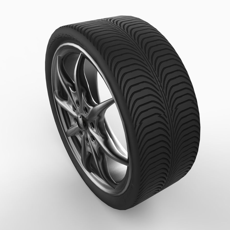 Mag Wheels - Rota Circuit royalty-free 3d model - Preview no. 3