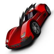 Red Eagle 3d model