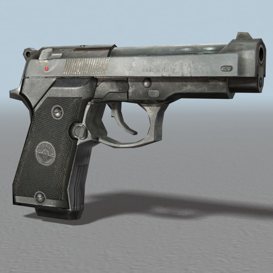 PISTOLA royalty-free modelo 3d - Preview no. 1