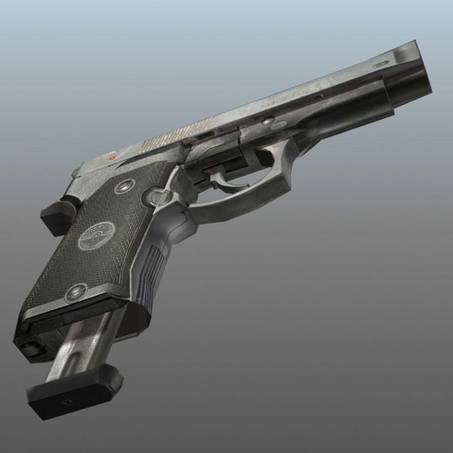 PISTOLA royalty-free modelo 3d - Preview no. 5
