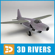 First jet by 3DRivers 3d model