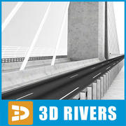 Millau Viaduct by 3DRivers 3d model