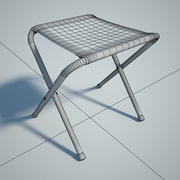 Folding chair 01 by 3DRivers 3d model