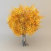 tree 02 low poly 3d model